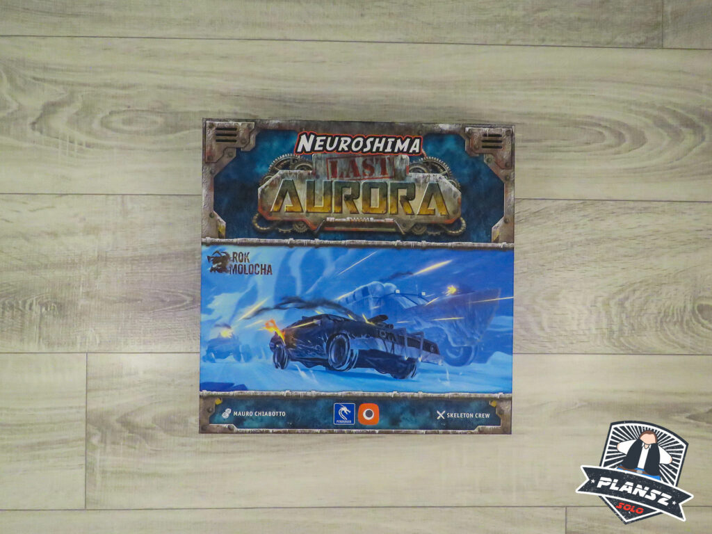 Last Aurora okładka