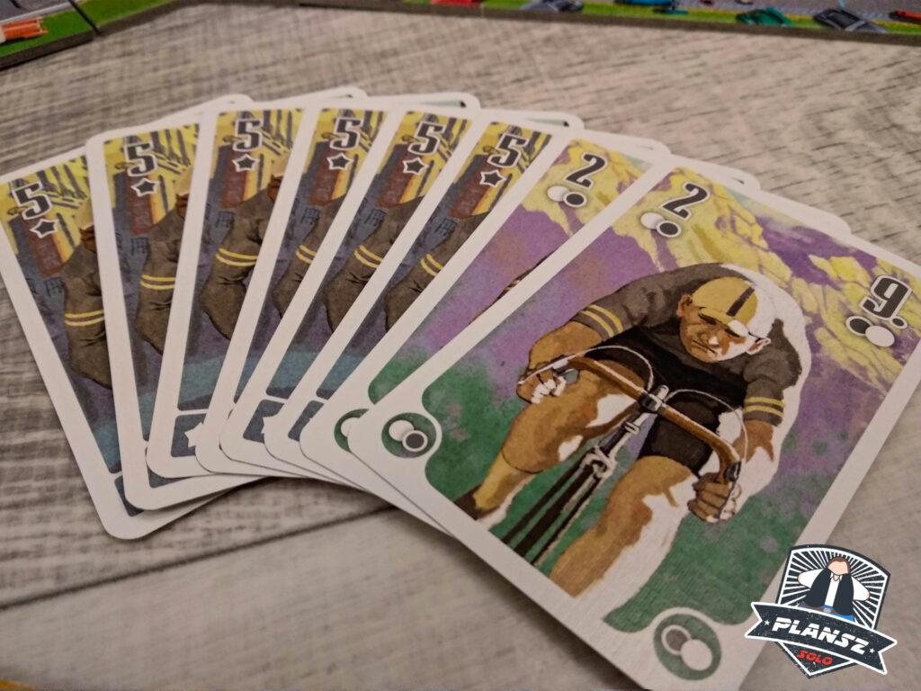 Peleton karty drużyn wirtualnych