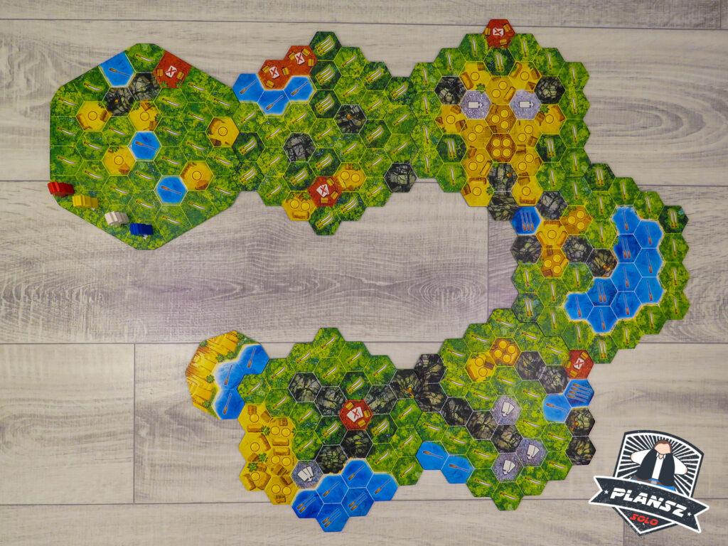 Wyprawa do El Dorado mapa