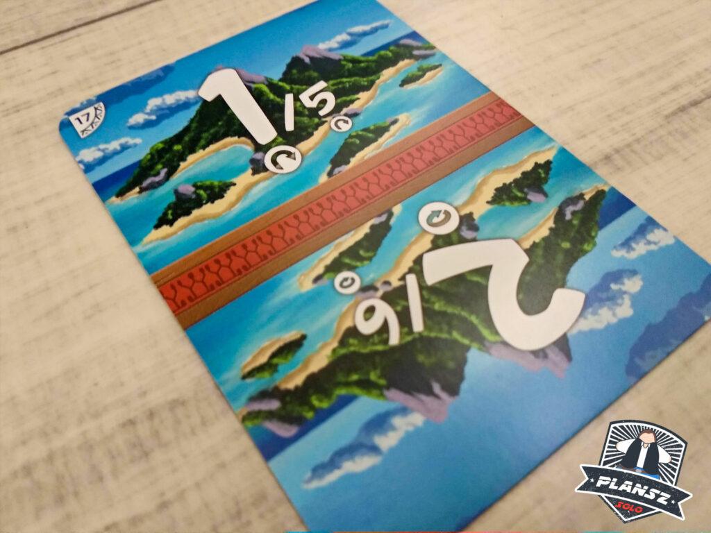 Samotna wyspa karta rundy
