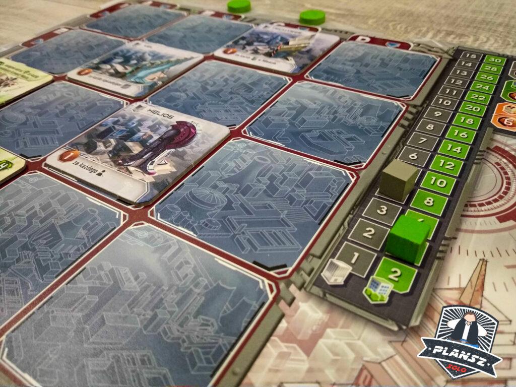 Solar City plansza gracza